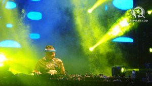 THE DOCTOR IS IN. Alex Gaudino played some of his well-known sets at the Summer Solstice 2013. Photo by Haiko Magtrayo
