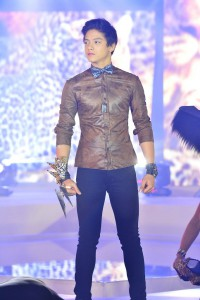 Daniel Padilla as the leopard